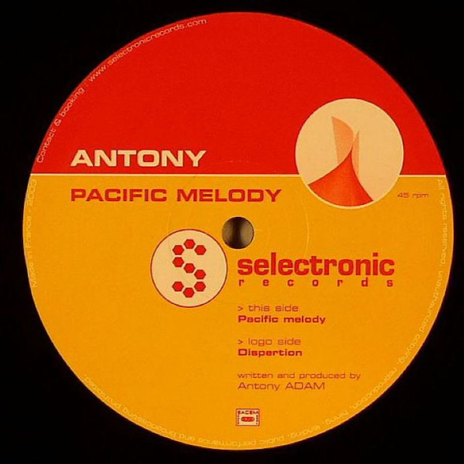 Antony - Pacific Melody | Selectronic